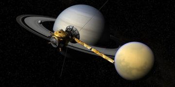 """NASA Mühendisi """"Titan'da yaşanılabilir"""""""